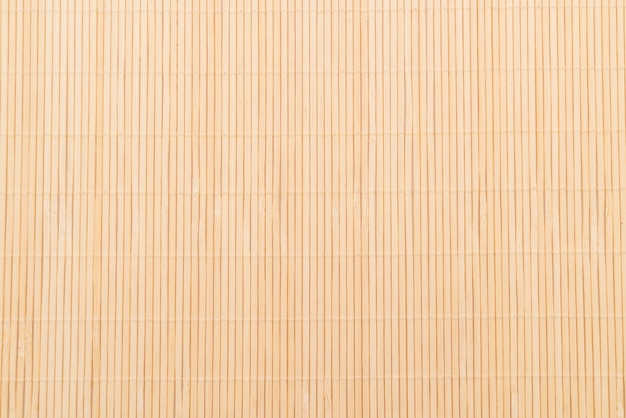 매트의 대나무 표면의 배경