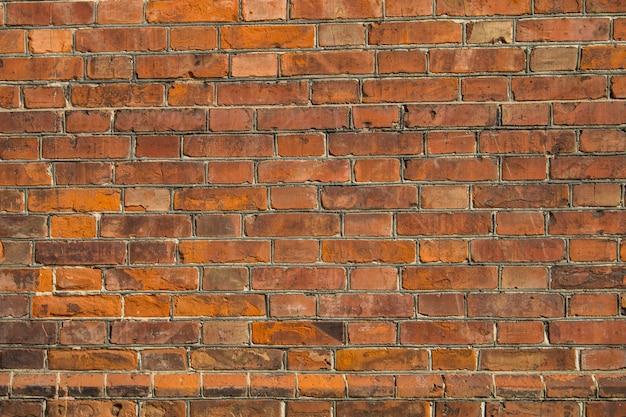 Фон старой красной кирпичной стены