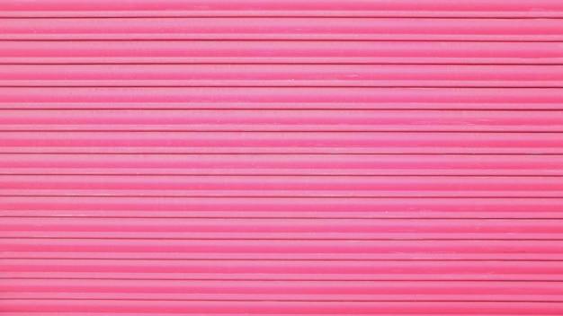 ピンクのメタルドアの背景