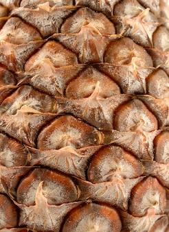 Фон кожи свежего ананаса
