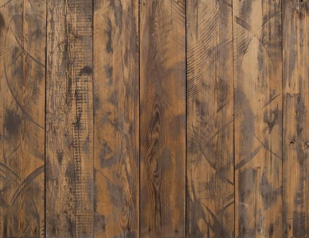 茶色の木板の背景