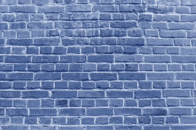 The background of the old blue brick wall wallpaper and  various scenes or as a background for video interviews.
