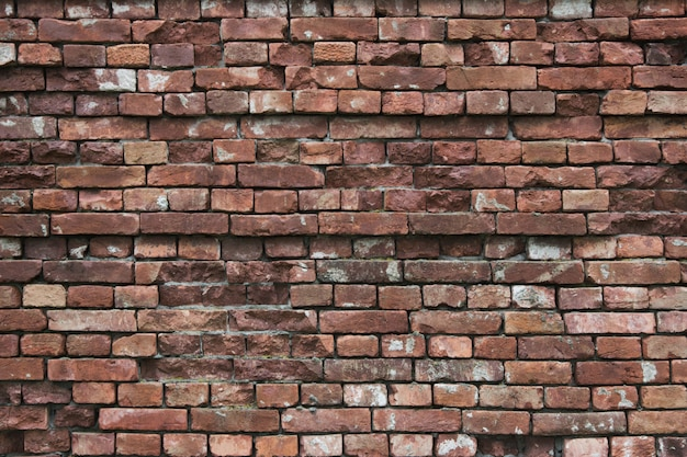 Background of old brown brick wall. abstract.