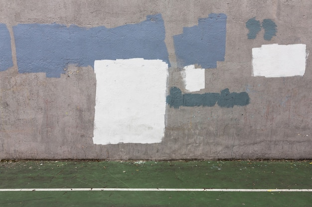 Background of old gray painted wall. aged street wall background, texture.
