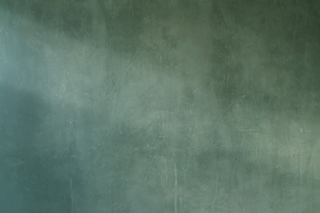 Background of old green cement grunge wall