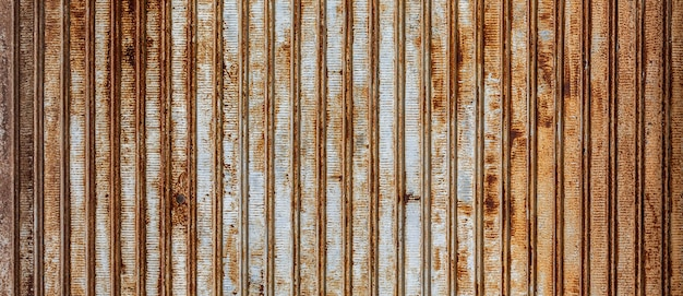 Background, old, rusty metal blinds