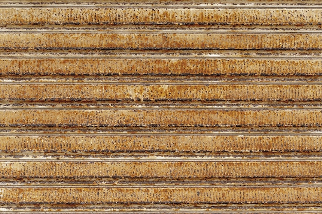 Background, old, rusty metal horizontal blinds