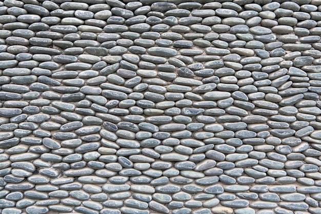 Фон или текстура камней, размещенных друг на друге упорядоченным и повторяющимся образом.