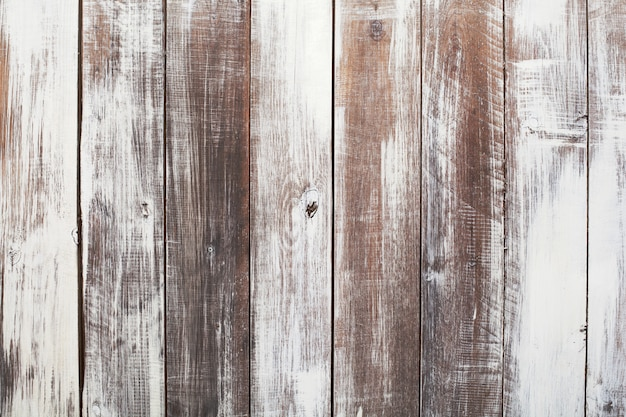 Background of painted brown old natural wood planks