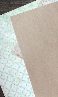 Background paper kraft