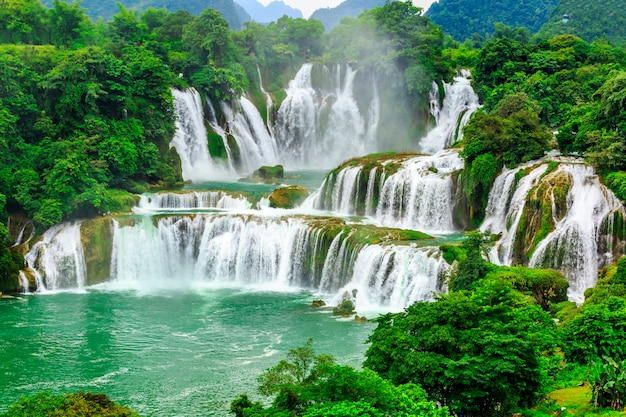 Sfondo parco wonder famoso paesaggio waterscape