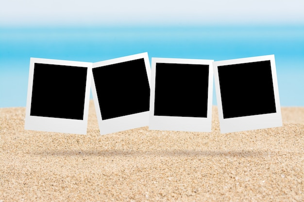 Background pictures on the beach