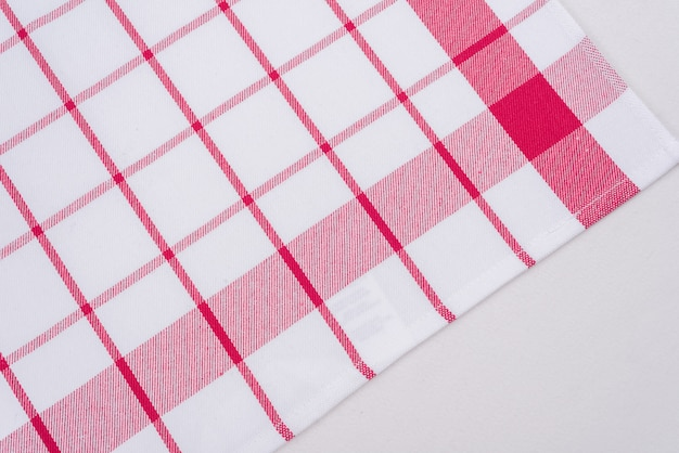 Background for product, checked tablecloth