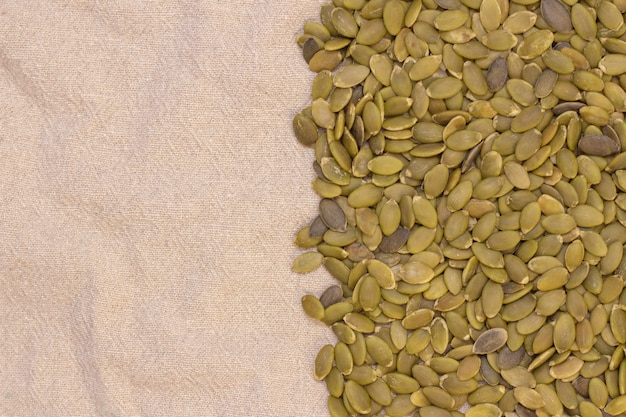Background. pumpkin seeds on natural flax. pumpkin seeds vitamins of group b and magnesium.