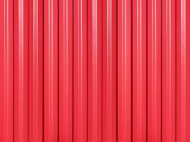 Background of roofing iron covered with red paint