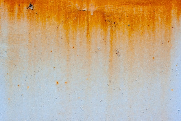 Background of rusty texture on the wall