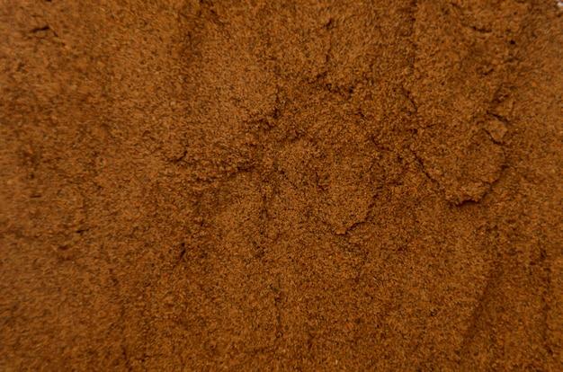 Background of seasoning - nutmeg powder