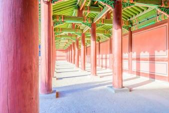 Background seoul korea tourism green