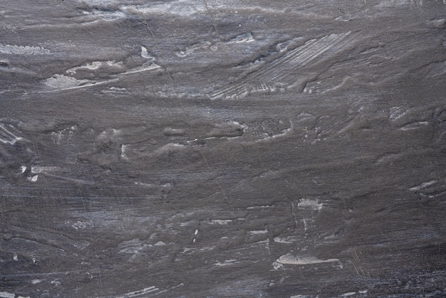 Background shabby black-and-gray wall with streaks, textured, three-dimensional texture