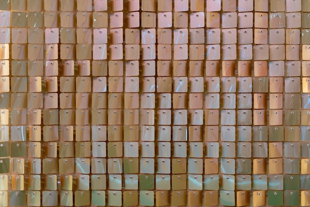 Background of shiny metal plates. abstract light background.