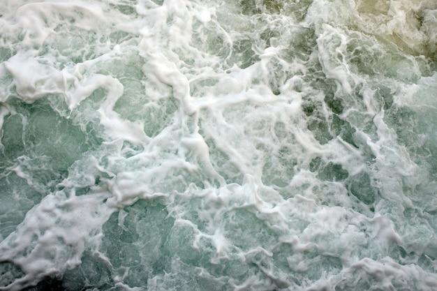 Фоновый снимок поверхности морской воды aqua