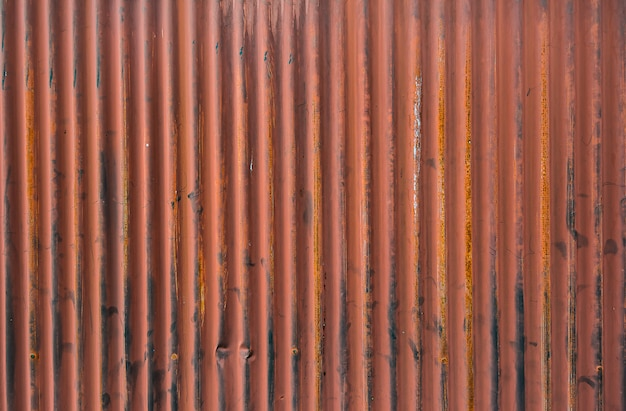 Background of siding paint and rusty old metal.