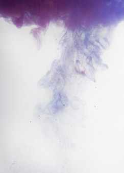 Background of splashes of paint on a white background