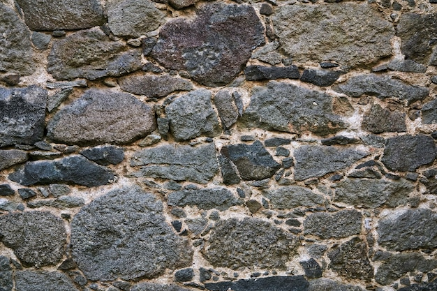 Background, texture - ancient masonry at the wall of the fortress
