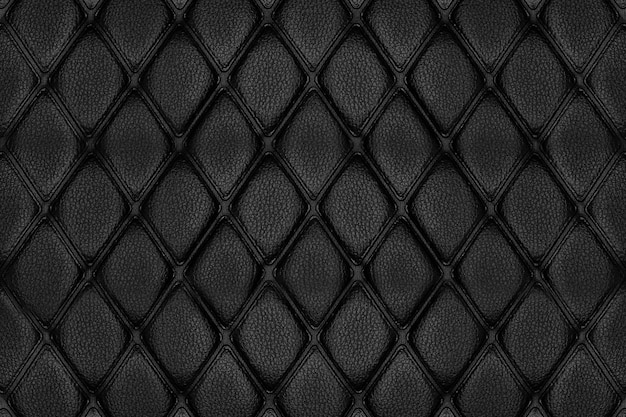 Background and texture black leather