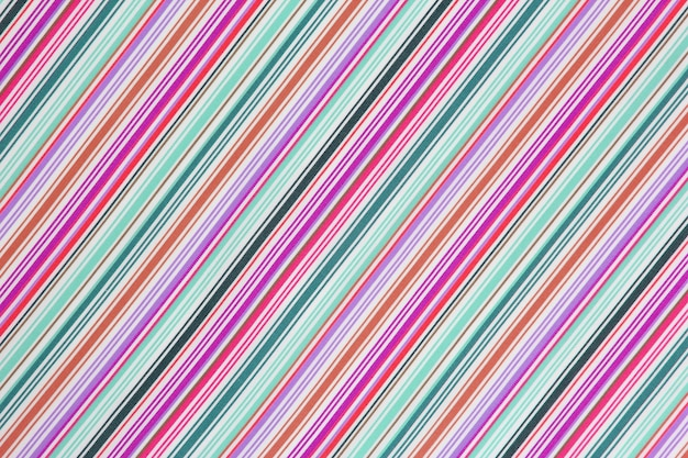 The background texture of the fabric in a colored diagonal strip