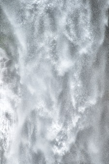 Background texture of falling water