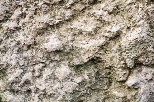Фон, текстура - серая неровная поверхность выветривания известняковой породы