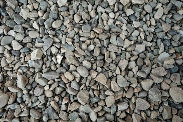 Background texture of grey gravel