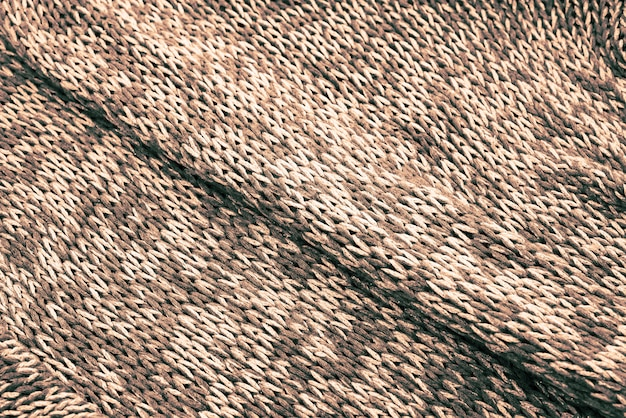Background texture of knitted canvas.