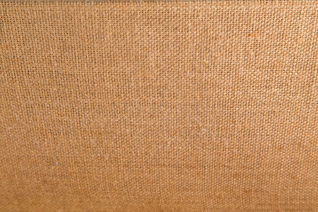 Background and texture of natural brown sackcloth