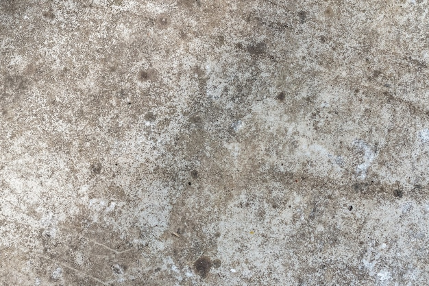 サンプルコンセプトレイアウトの建設、食品、または工業用フラットレイヤーのモックアップまたはデザインパターンの亀裂がある古いコンクリート壁の背景テクスチャ。