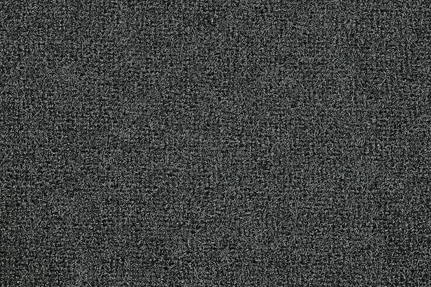 灰色の濃いウール生地の背景の質感