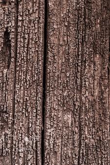 배경 - 오래 된 썩은 금이 나무의 질감