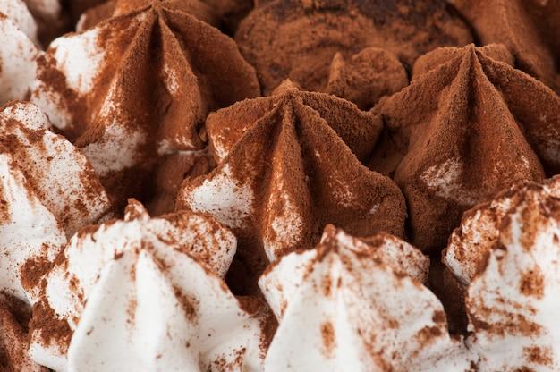 渦巻くアイスクリームの背景テクスチャ