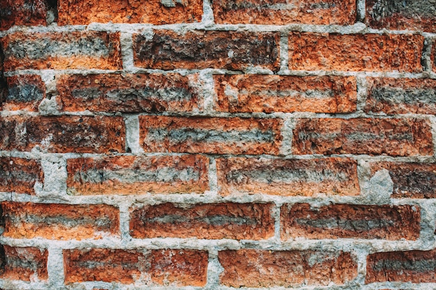 Background texture of old brick wall