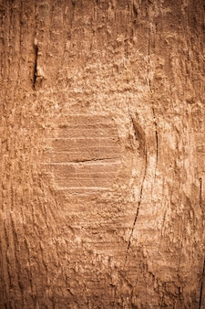 Background texture old brown wooden board.