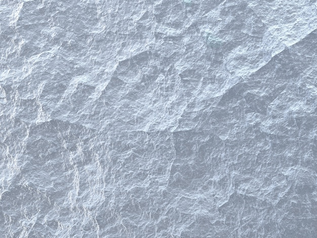 Background texture of rough white stone, ice surface of blue and white color closeup