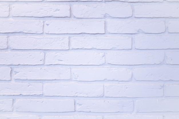 背景のテクスチャ。白いレンガの壁面。コピースペース