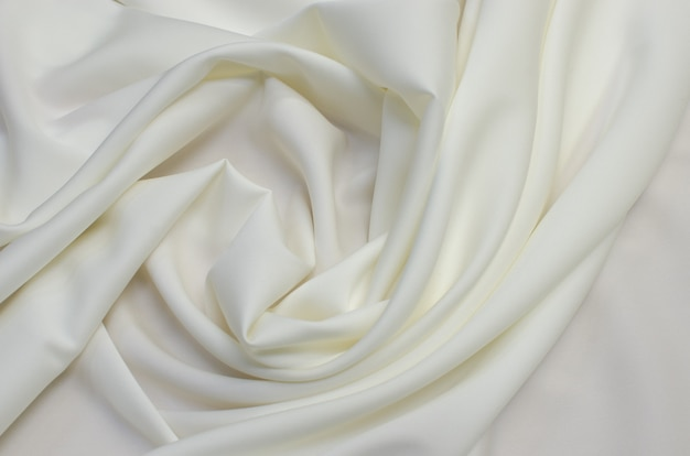 Background texture of white fabric