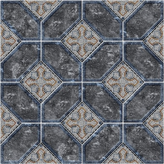 Background texture with a pattern. decorative stone tiles from colored marble and granite. element for design