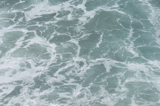 배경, 푸른 물 거품