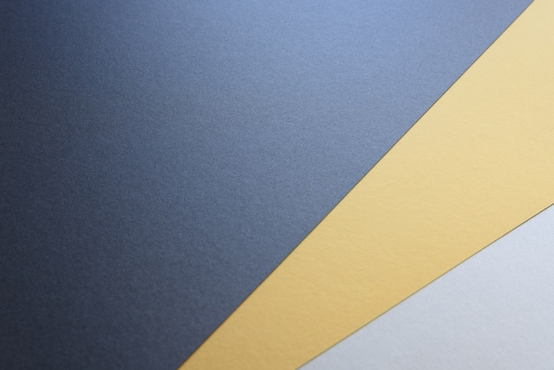 Background of three colors modern design, black, white and yellow.