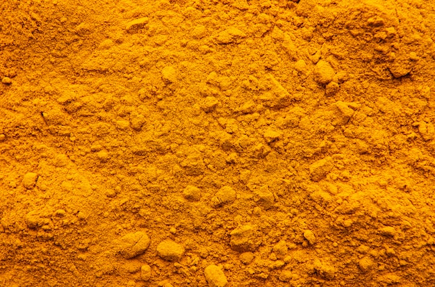 Background of turmeric powder