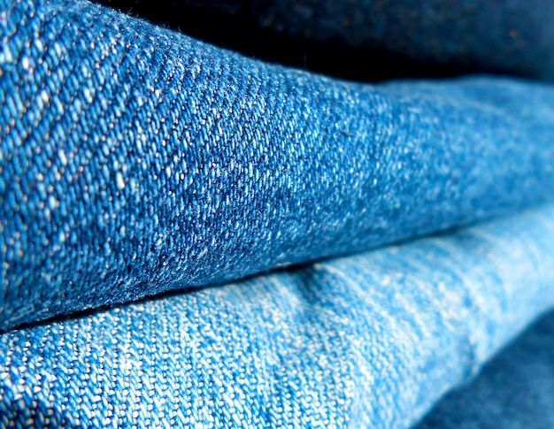 Background of two folded jeans