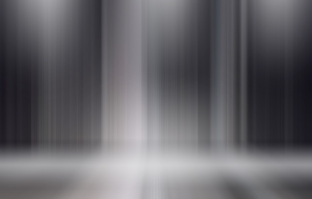 Фон вертикальные абстрактные линии на сцене в прожекторах